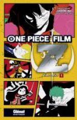 One Piece Film Z Anime comics T1, manga chez Glénat de Oda, Nagamine, Suzuki