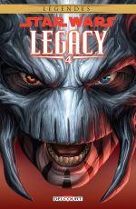 Star Wars Legacy – Saison 1, T4 : Indomptable (0), comics chez Delcourt de Ostrander, Robinson, Francia, Anderson
