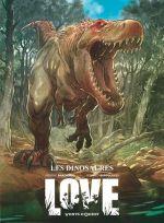 Love T4 : Les dinosaures (0), bd chez Vents d'Ouest de Brrémaud, Bertolucci