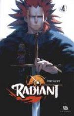 Radiant T4, manga chez Ankama de Valente