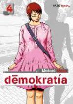 Demokratia T4, manga chez Kazé manga de Mase