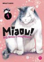 Miaou ! Big-Boss le magnifique  T1, manga chez Nobi Nobi! de Kakio