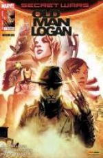 Secret Wars : Old Man Logan T1 : Par-delà le mur (0), comics chez Panini Comics de Bendis, Guggenheim, Burnham, Villalobos, Sorrentino, Di Giandomenico, Herring, Maiolo, Woodard