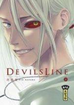 Devils line T3, manga chez Kana de Hanada