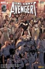 Uncanny Avengers (revue) – V 2, T11 : Derniers jours (0), comics chez Panini Comics de Ewing, Remender, Hopeless, Acuña, Mast, Ross, Geoffo, Kudranski, Rosenberg, Mossa