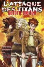 L'Attaque des Titans - Before The Fall T5, manga chez Pika de Isayama, Shiki, Suzukaze