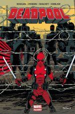 Deadpool (2013) T3 : Le bon, la brute et le truand (0), comics chez Panini Comics de Duggan, Posehn, Koblish, Shalvey, Bellaire, Staples