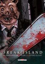 Freak island  T2, manga chez Delcourt de Hokazono