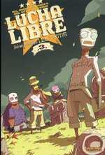 Lucha libre T3 : Les Tikitis (0), comics chez Les Humanoïdes Associés de Vargas, Frissen, Gaubert, Mense, Witko, Tanquerelle, Firoud