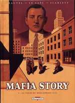 Mafia Story T2 : La folie du hollandais (2ème partie) (0), bd chez Delcourt de Chauvel, Le Saëc, Smulkowski