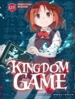 Kingdom game T3, manga chez Tonkam de Sorase