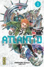 Atlantid T1, manga chez Kana de Yamaji