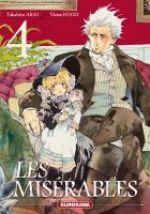 Les Misérables T4, manga chez Kurokawa de Arai, Hugo