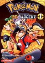Pokémon Or et Argent T1, manga chez Kurokawa de Kusaka, Mato