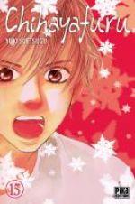 Chihayafuru T15, manga chez Pika de Suetsugu