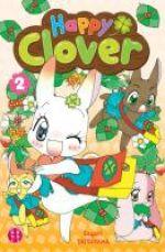 Happy clover T2, manga chez Nobi Nobi! de Tatsuyama