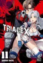 Triage X T11, manga chez Pika de Sato