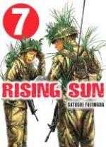 Rising sun T7, manga chez Komikku éditions de Fujiwara