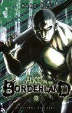 Alice in borderland T13, manga chez Delcourt de Haro