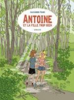 Antoine et la fille trop bien, bd chez Sarbacane de Franc