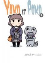 Yako et Poko  T2, manga chez Komikku éditions de Mizusawa
