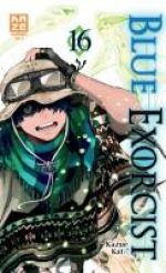 Blue exorcist T16, manga chez Kazé manga de Kato