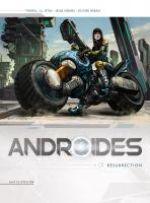 Androïdes – Saison 1, T1 : Résurrection (0), bd chez Soleil de Istin, Hervàs, Héban