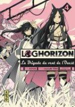 Log Horizon - La brigade du vent de l'ouest  T4, manga chez Kana de Tono, Koyuki