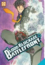 Blood blockade battlefront T4, manga chez Kazé manga de Nightow
