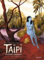 Taïpi : Un paradis cannibale (0), bd chez Gallimard de Melchior-durand, Bachelier