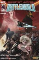 Secret Wars : Battleworld T5 : Mal dominant (0), comics chez Panini Comics de Ennis, Aaron, Taylor, Stokoe, Braun, Pugh, Del Mundo, Almara, Bonvillain, D'Alfonso, Francavilla, Wilson