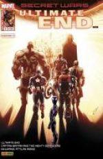 Secret Wars : Ultimate End T5 : Ce n'est qu'un au revoir ? (0), comics chez Panini Comics de Ewing, Bendis, Soule, Bagley, Timms, Davis, d' Armata, Quintana, Ponsor