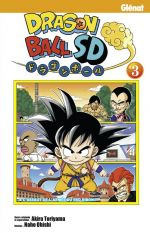 Dragon ball SD  T3, manga chez Glénat de Toriyama, Oishi