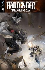 Harbinger Wars, comics chez Bliss Comics de Swierczynski, Dysart, Pérez, Suayan, Henry, Crain, Reber