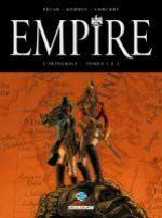 Empire : Tomes 1 à 3, bd chez Delcourt de Pécau, Kordey, Chuckry