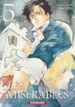 Les Misérables T5, manga chez Kurokawa de Arai, Hugo