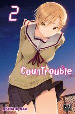 CounTrouble  T2, manga chez Pika de Nao