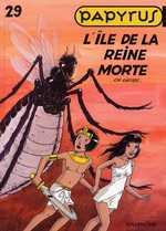 Papyrus T29 : L'île de la reine morte (0), bd chez Dupuis de de Gieter, Grobet