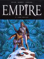 Empire – cycle 1, T2 : Lady Shelley (0), bd chez Delcourt de Pécau, Kordey, Chuckry