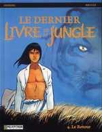 Le dernier livre de la jungle T4 : Le retour (0), bd chez Le Lombard de Desberg, Reculé