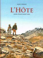 L'hôte, bd chez Gallimard de Ferrandez