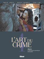 L'Art du crime T4 : Electra (0), bd chez Glénat de Berlion, Omeyer, Liberge, Favrelle