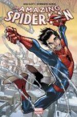 The Amazing Spider-Man T1 : Une chance d'être en vie (0), comics chez Panini Comics de Caramagna, Slott, Gage, Ramos, Camuncoli, Rodriguez, Eliopolous, Charalampidis, Fabela, Delgado