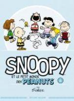 Snoopy et le petit monde des Peanuts T6, comics chez Delcourt de Schulz, Svart