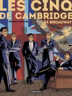 Les Cinq de Cambridge T2 : 54 Broadway (0), bd chez Casterman de Lemaire, Neuray, Osuch