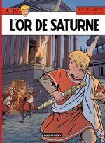 Alix T35 : L'or de Saturne (0), bd chez Casterman de Venanzi, Valmour, Barthélemy