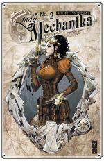 Lady Mechanika T2 : Le mystère du corps mécanique (2e partie) (0), comics chez Glénat de Benitez, Steigerwald