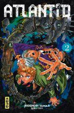 Atlantid T2, manga chez Kana de Yamaji