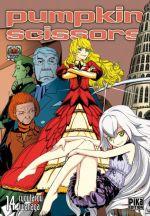 Pumpkin scissors T14, manga chez Pika de Iwanaga