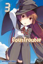 CounTrouble  T3, manga chez Pika de Nao